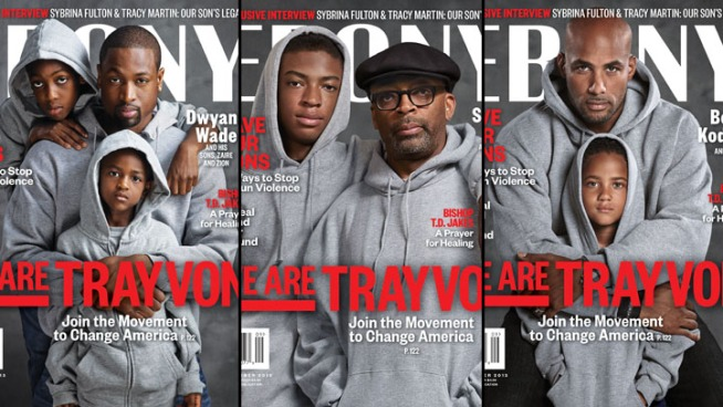 "Ebony Unveils ""We Are Trayvon"" Covers Featuring Spike Lee, Dwyane Wade"
