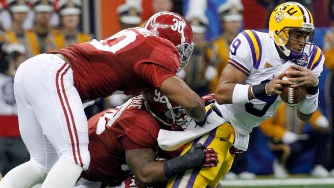 'Bama Defense Shuts Out LSU in BCS Championship