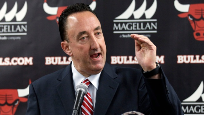 Midday Stampede: Gar Forman's Back Against the Wall