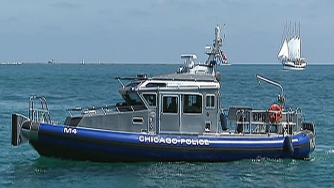 Three new police boats that will be patrolling the city's waterways were designed by the department and paid for with a federal grant.  Dep. Chief Steve Georgas of the police department's Special Functions Group explains.