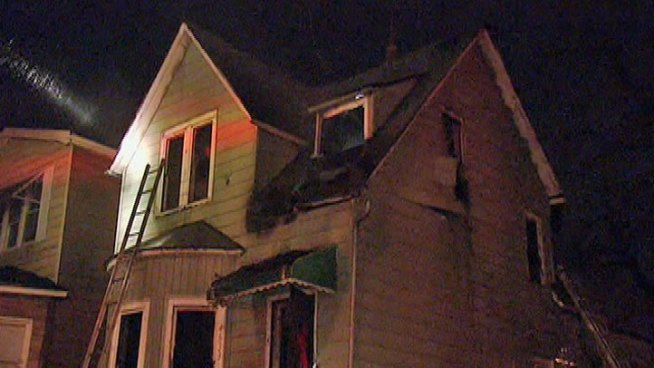 Two Children Injured in West Side Fire