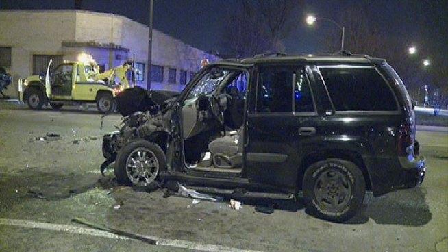 Car Crash: Chicago Area Car Crash
