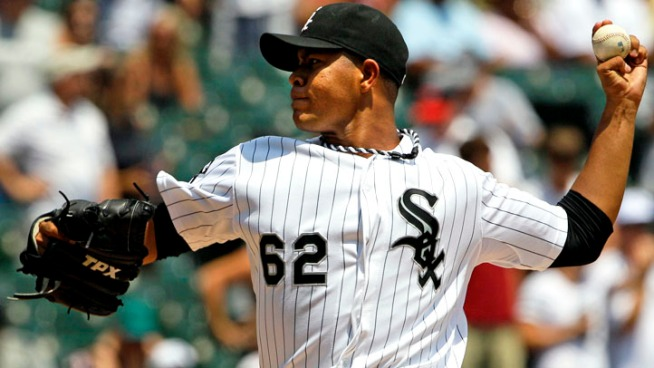 Quintana Pitches Sox to Sweep of Rangers
