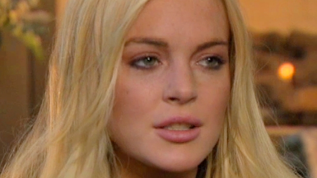 After a run in with the law after allegedly stealing a necklace, Lohan is optimistic about her future.