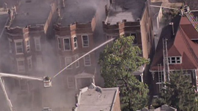 Little Village Fire Spreads to Neighboring Buildings