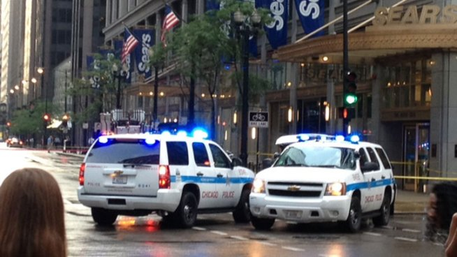 Falling Glass Closes State Street