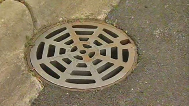 Woman, 76, used her cell phone to call for help after falling seven feet through a manhole near Dundee and Hicks roads that didn't have a cover. Christian Farr reports.
