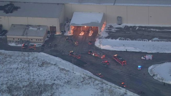 No Injuries in Fire at South Side Steel Plant
