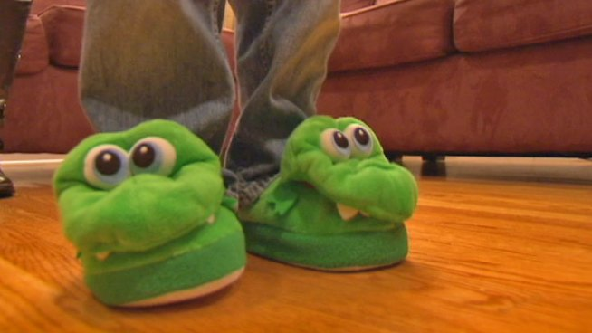 Dozens of caregivers blast maker of Stompeez for faulty products and unrelated sales pitches. Lisa Parker reports.