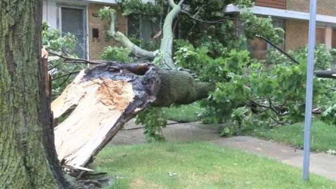 A roundup of some the worst damage from Monday's severe storms.
