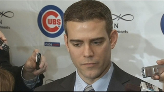 Chicago Cubs President of Baseball Operations said a part of spring training will be instilling values on how players should behave off the field as well as on it.