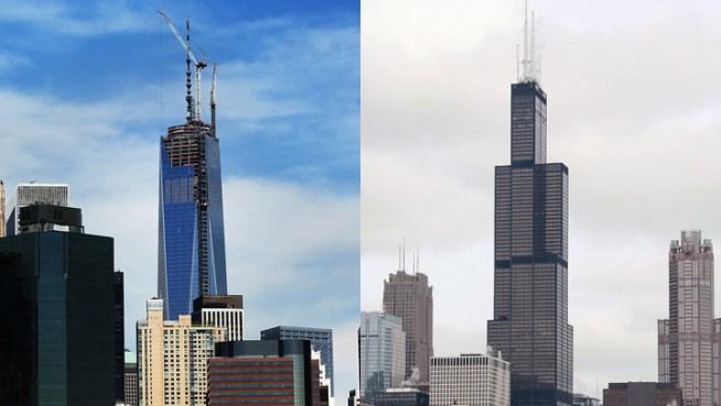 One World Trade Center vs Willis Tower