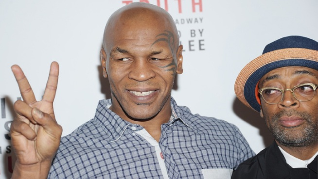 Mike Tyson in the Ring and Out