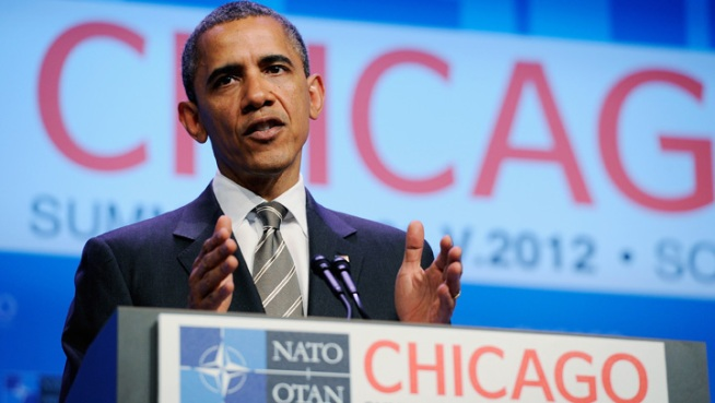 President Obama lauds his hometown of Chicago for organizing a successful NATO Summit weekend.