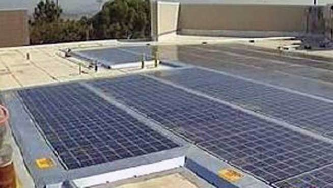 Going Green: Solar Panels Provide Power, Knowledge
