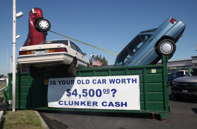 "Used Car Dealers not Feeling ""Clunkers"" Love"