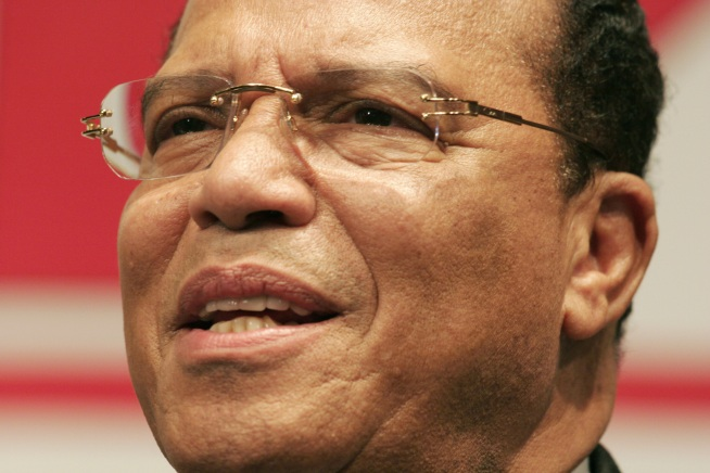 Farrakhan Calls Street Crime Number One Issue