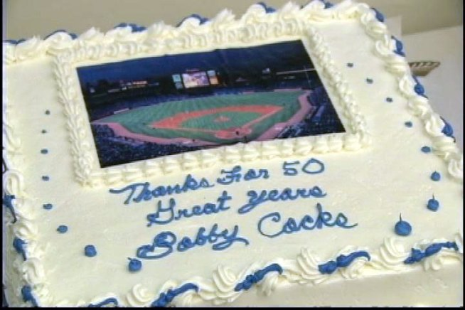 Bobby Cox's Birthday Surprise
