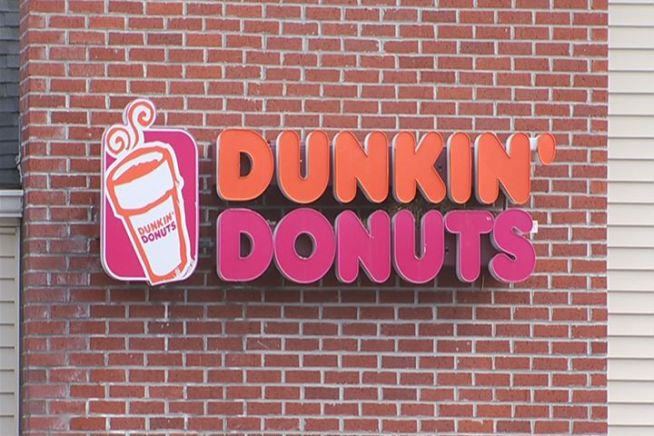When a man tried to rob a Dunkin' Donuts in West Haven, an employee acted quickly and stopped him with the closest weapon available hot coffee.