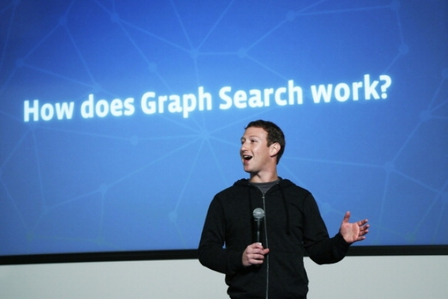 CEO Mark Zuckerberg unveiled a new type of search that allows users to easily find information from within their friends' news feeds, called