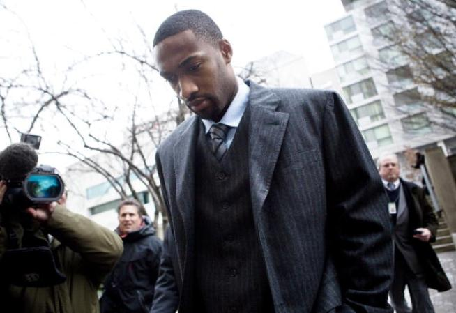 Gilbert Arenas Leaves Court