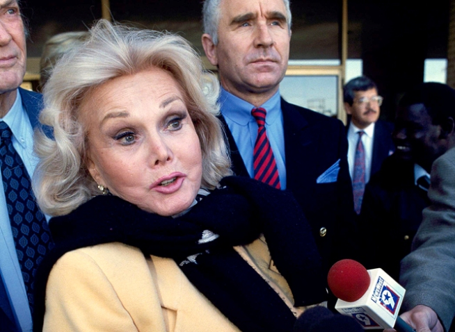Zsa Zsa Gabor Hospitalized With Broken Hip