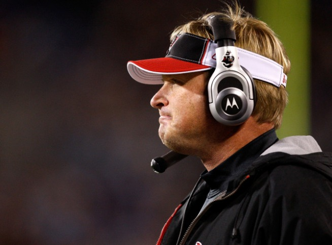 Jon Gruden Cool With The Booth