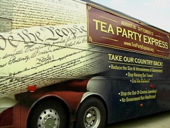 The Tea Party Express rolled into far south suburban <a title=