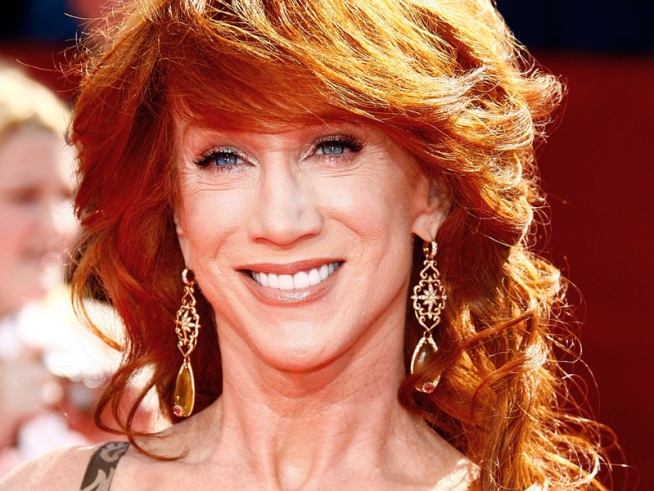 Kathy Griffin's Christmas Cheer: Suck It