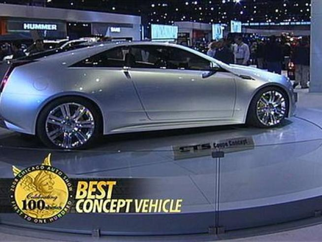 Check out the Best of the Best from the 2008 Chicago Auto Show!