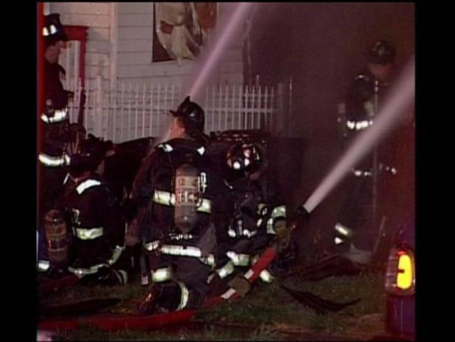 A blaze destroyed a South Side house.