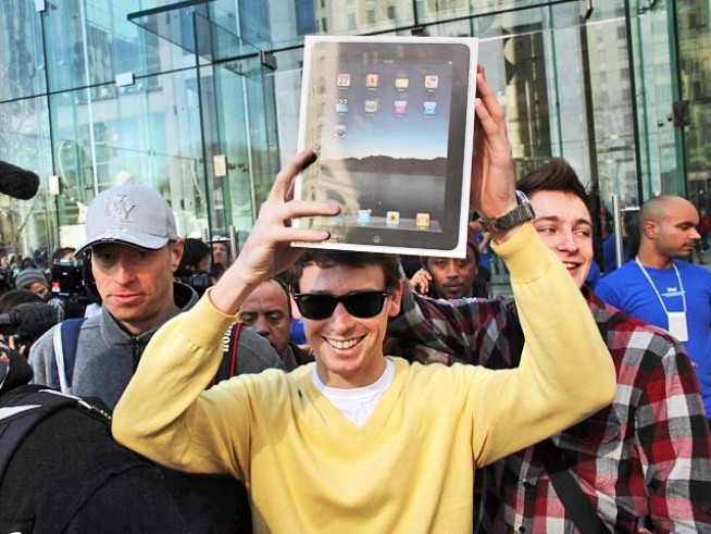 Apple's Much-Anticipated iPad Goes on Sale
