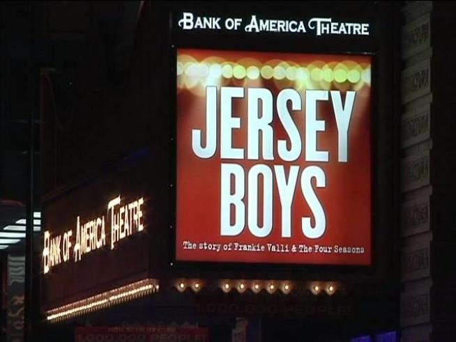 A bomb scare in the Loop didn't last long on Tuesday night, but Jersey Boys had to take a time-out from their show.