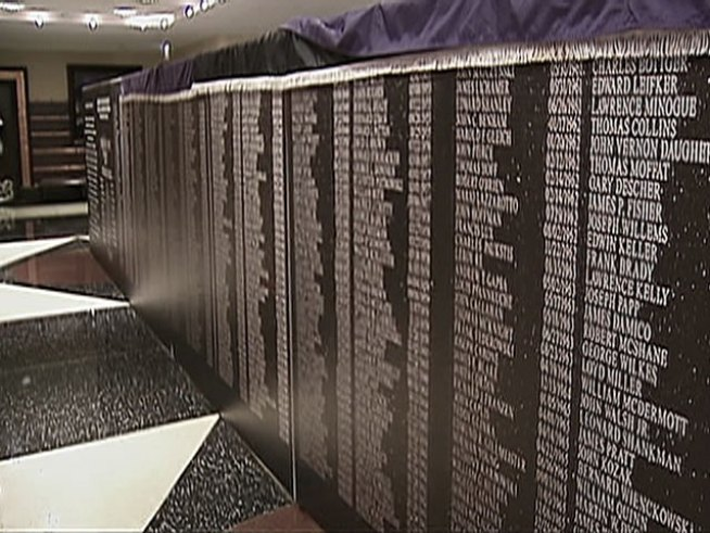 Memorial for Fallen Heroes Unveiled