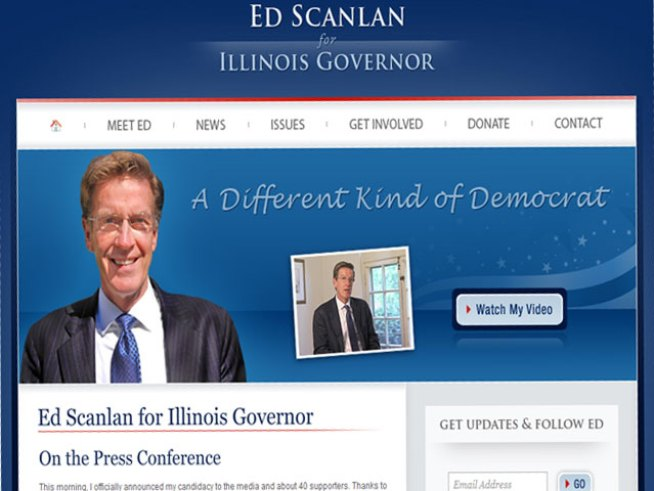 Ed Scanlan (D), Running for Governor