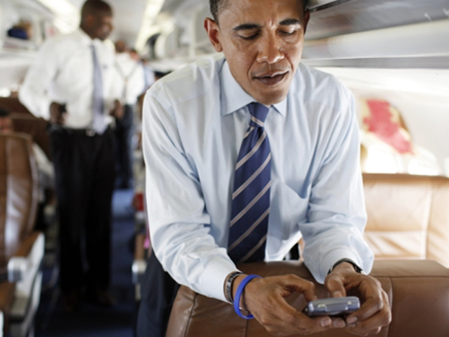 Obama to Hit Up Your Phone