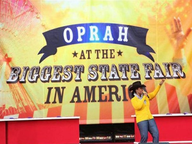 Oprah at the 2009 State Fair of Texas
