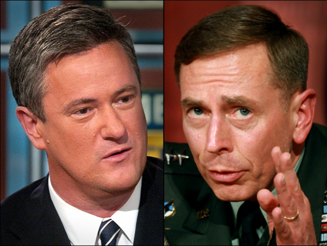 Petraeus, Scarborough Eyed for '12 GOP Run