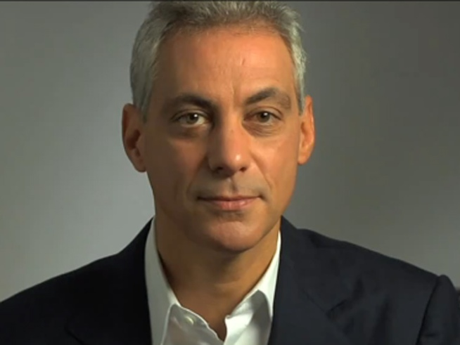 Rahm Makes Mayoral Run Official