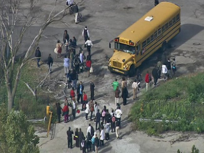 Two Schools Evacuated After Explosive Found Nearby