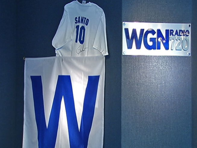 WGN 720 AM's coverage Friday morning focused on the passing of <a title=