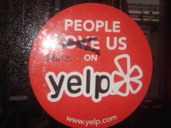 Yelp Sued for Extortion