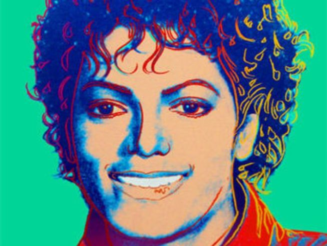 Michael Jackson Warhol Portrait Up for Auction