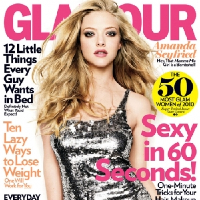 "Amanda Seyfried, Zoe Saldana & Leighton Meester Top Glamour's ""Most Glam"" List"