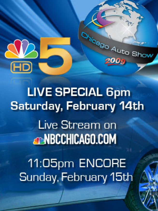 2009 Chicago Auto Show - LIVE Event!