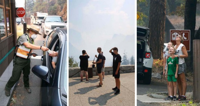 [NATL-LA Updated 8/14] PHOTOS: Scenes From the Ferguson Fire Near Yosemite National Park