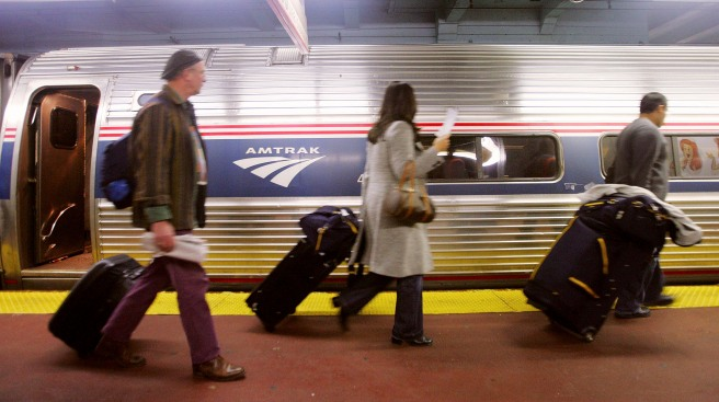 Amtrak Ridership Reaches Record Levels