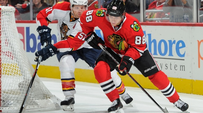 Seabrook, Kane Lead Blackhawks to 3-2 Win Over Panthers