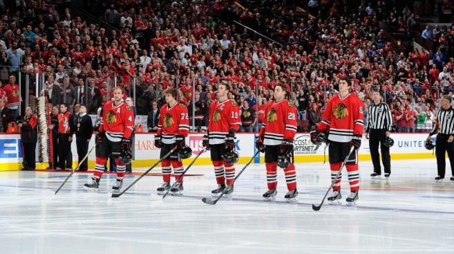 Blackhawks Look to Tame Wild at United Center