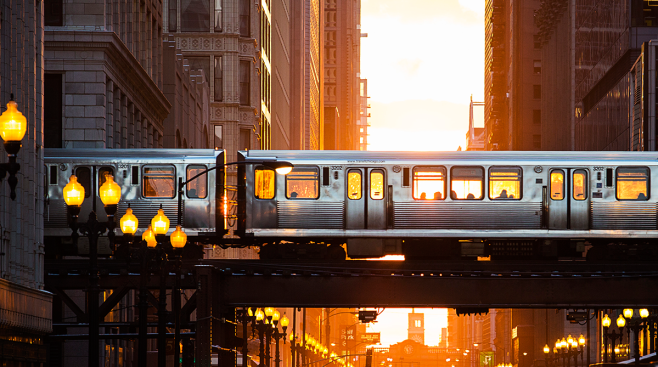 Chicago Offers Free Bus, Train Rides New Year's Eve